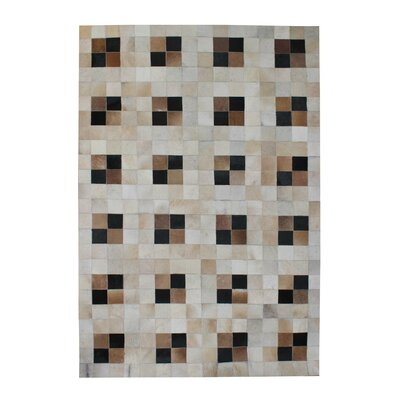 Coffee Toffee Geomatric Area Rug