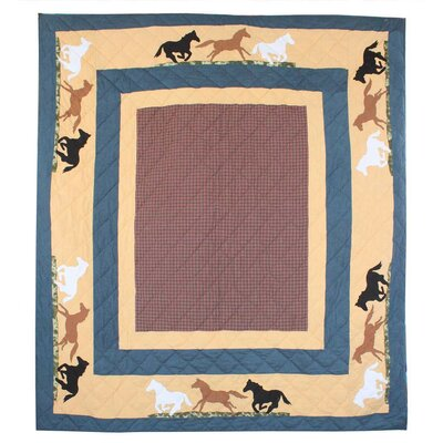 Wild Horse Trail Queen Quilt