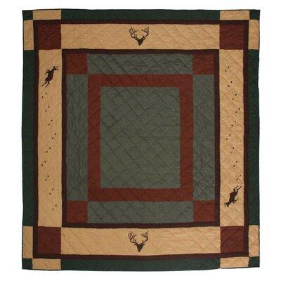 Deer Trail Cotton King Quilt