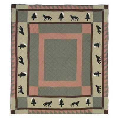 Wolf Trail Quilt Size: Queen