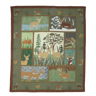 White Tail Grove Quilt Size: King