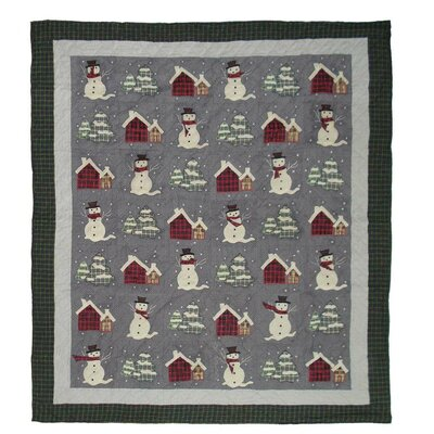 Snowman Coverlet Collection