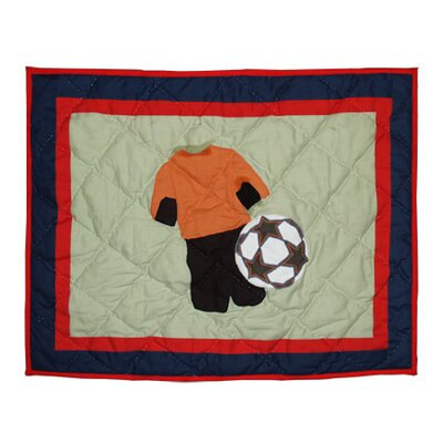 Play to Win Soccer Pillow Sham