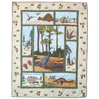 Dinosaur Coverlet Collection
