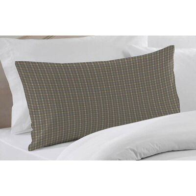 Plaid Pillow Sham Color: Blue Grey