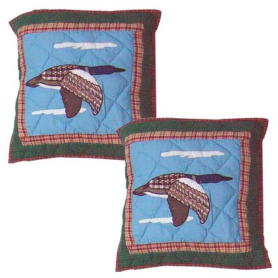 Loon Cotton Throw Pillow