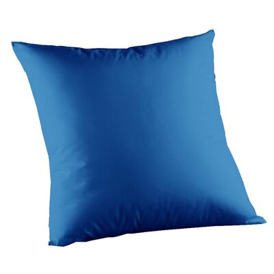 Solid Cotton Throw Pillow Color: Sky Blue