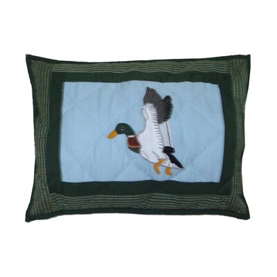 Mallard Crib Cotton Boudoir/Breakfast Pillow