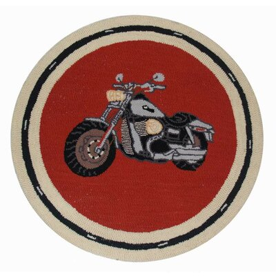 Motor Cycle Novelty Rug