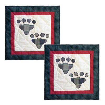 Fido-Paw Cotton Throw Pillow