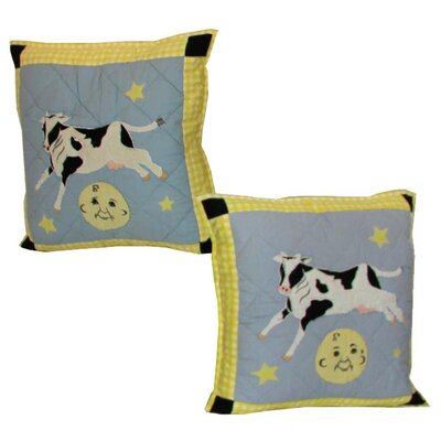 Hey Diddle Cotton Throw Pillow