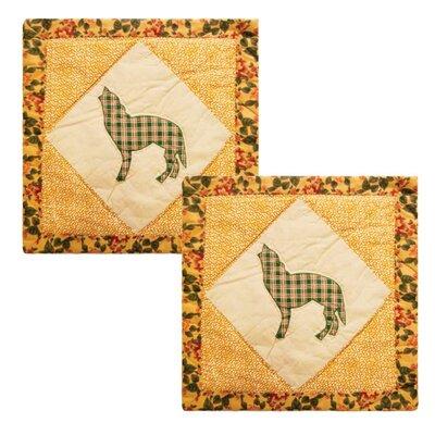 Caribouwood Cotton Throw Pillow