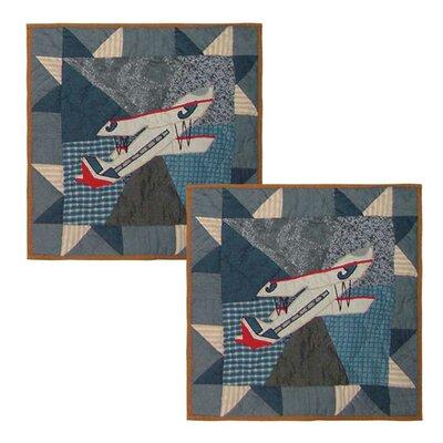 Airplane Cotton Throw Pillow