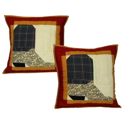 Boots Cotton Throw Pillow