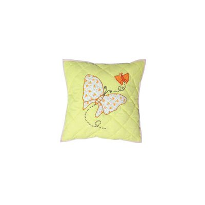 Sundress Butterfly Cotton Throw Pillow
