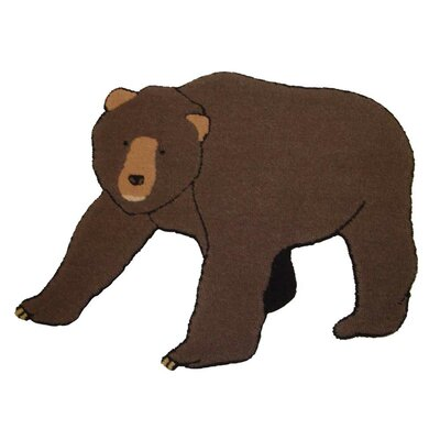 Cabin Bear Area Rug Rug Size: Novelty 22 x 210