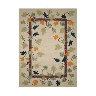 Falling Leaves Area Rug Rug Size: 310 x 51