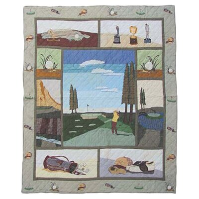 Golf Quilt Size: Twin