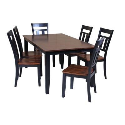 Haan 7 Piece Dining Set with Rectangular Table