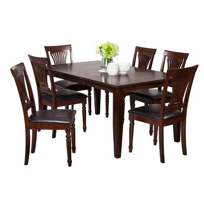 Haan Traditional 7 Piece Dining Set