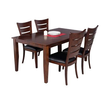 Haan Modern 5 Piece Dining Set