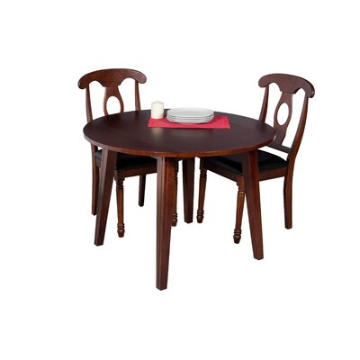 Dinh Modern 3 Piece Extendable Dining Set