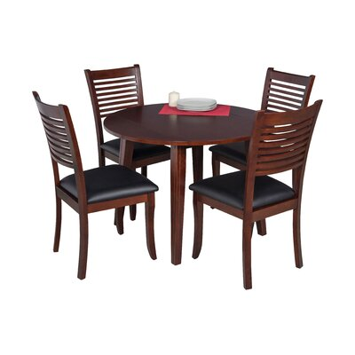 Dinh 5 Piece Drop Leaf Dining Set