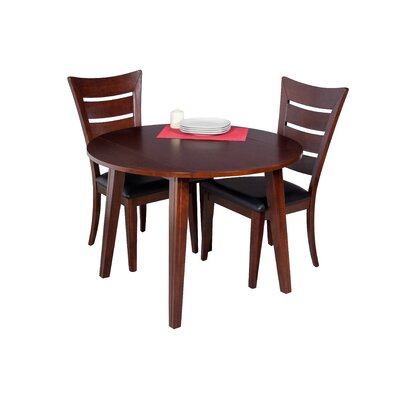 Dinh 3 Piece Drop Leaf Dining Set