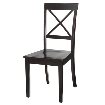 Ashmore Solid Wood Dining Chair Set of: Set of 2