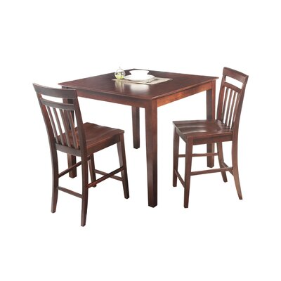Foxfield 3 Piece Counter Height Dining Set