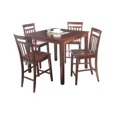 Foxfield 5 Piece Counter Height Dining Set