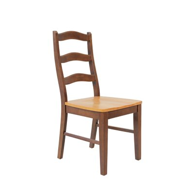 Novato Solid Wood Dining Chair Set of: Set of 4