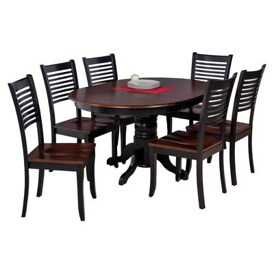 Maryrose Modern 7 Piece Wood Dining Set