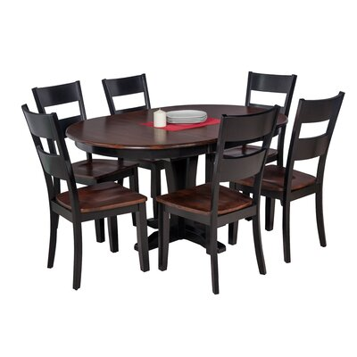 Maryrose 7 Piece Dining Set with Oval Table