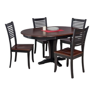 Maryrose 5 Piece Solid Wood Dining Set