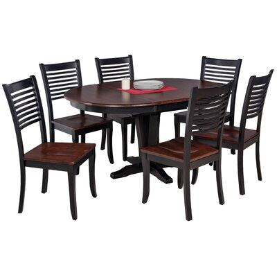 Maryrose Modern 7 Piece Dining Set with Oval Table