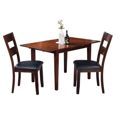 Assante 3 Piece Wood Dining Set