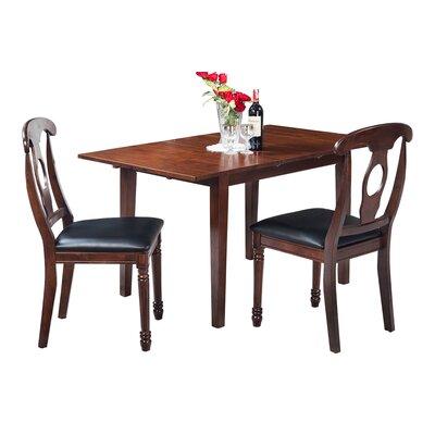 Assante Modern 3 Piece Wood Dining Set