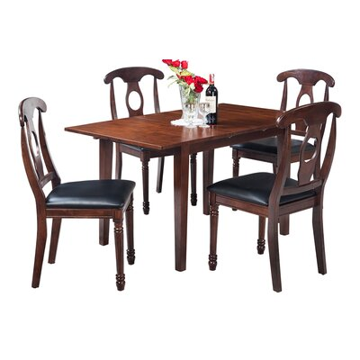 Assante 5 Piece Solid Wood Dining Set