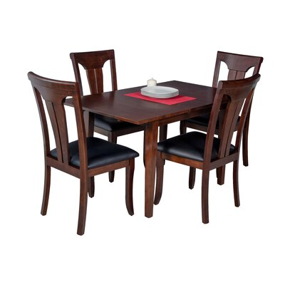 Assante 5 Piece Wood Dining Set