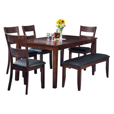 Downieville-Lawson-Dumont Modern 6 Piece Dining Set