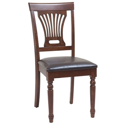 Arrow Solid Wood Dining Chair Set of: Set of 2