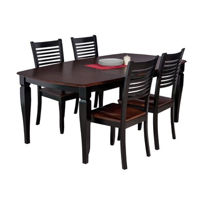 Besse Traditional 5 Piece Dining Set