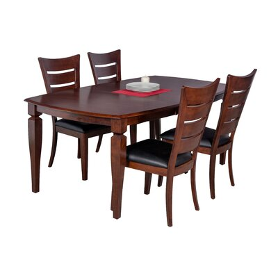 Besse 5 Piece Dining Set