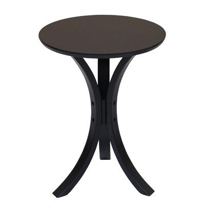 Channel End Table Color: Black