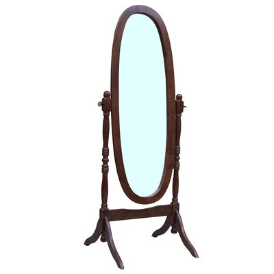 Maryanna Traditional Standing Cheval Mirror