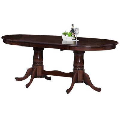 Doretha Dining Table Color: Espresso
