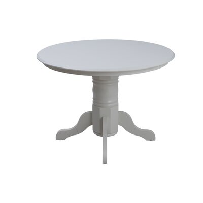 Aspinwall Dining Table Color: White
