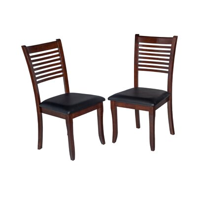 Dinsmore Cottage Solid Wood Dining Chair Color: Espresso