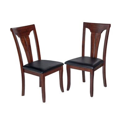 Jesenof Solid Wood Dining Chair Color: Espresso